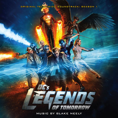 Cover art for Legends of Tomorrow: Season 1 (Original Television Soundtrack)