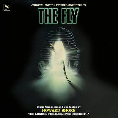 Cover art for The Fly (Original Motion Picture Soundtrack) (Green & Black Haze 3D Vinyl Variant)