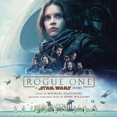 Cover art for Rogue One: A Star Wars Story (Original Motion Picture Soundtrack)