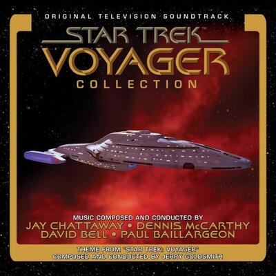 Cover art for Star Trek Voyager Collection (Original Television Soundtrack)