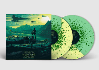 Cover art for Star Wars: The Force Awakens - Collector's Edition (Original Motion Picture Soundtrack) (Poe (Yellow / Green Half & Half) Variant)