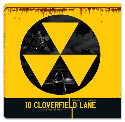 """Cover art for 10 Cloverfield Lane (Original Motion Picture Soundtrack) (Red with Silver """"Duct Tape"""" Vinyl Variant)"""