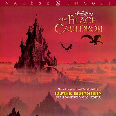 Cover art for The Black Cauldron: Encore Edition (Original Motion Picture Score)