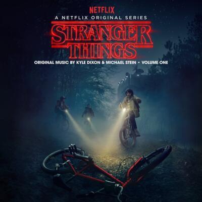 Cover art for Stranger Things: Volume 1 (A Netflix Original Series Soundtrack) (Multi-Colored Blend Vinyl Variant)