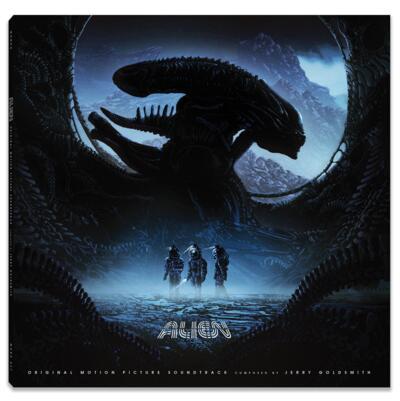 Cover art for Alien (Original Motion Picture Soundtrack) (Acid Blood Green Variant)