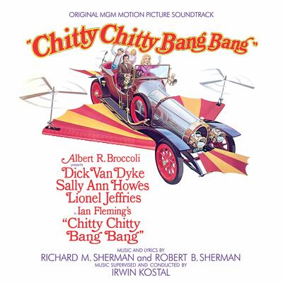 Cover art for Chitty Chitty Bang Bang (Original Motion Picture Soundtrack)