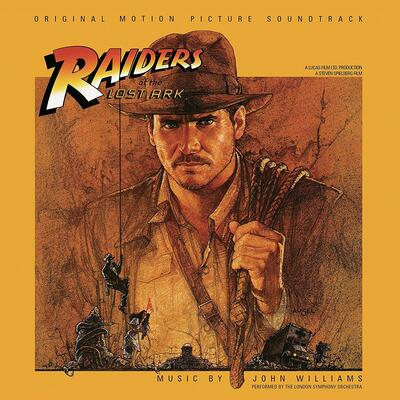 Cover art for Raiders of the Lost Ark (Original Motion Picture Soundtrack) (Gold with Black Swirl Variant)