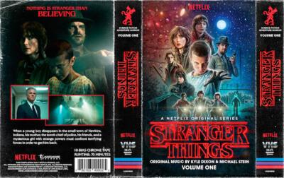 Cover art for Stranger Things: Volume 1 (A Netflix Original Series Soundtrack)