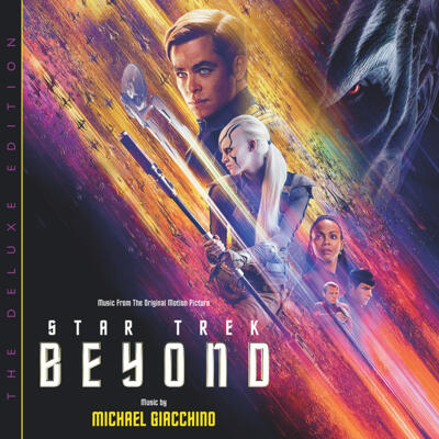 Cover art for Star Trek Beyond: The Deluxe Edition (Music From The Original Motion Picture)