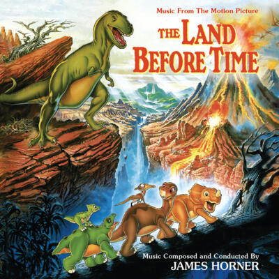 Cover art for The Land Before Time (Music From The Motion Picture)