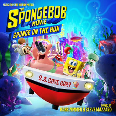 Cover art for The SpongeBob Movie: Sponge on the Run (Music from the Motion Picture)
