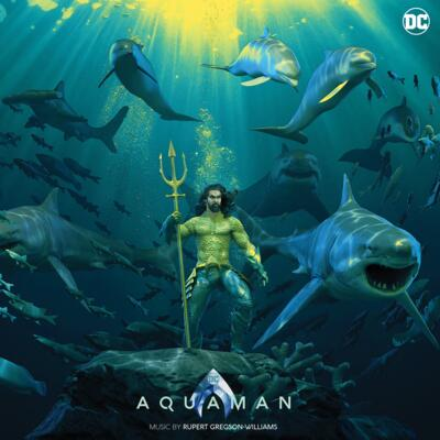 Cover art for Aquaman: Deluxe Edition (Original Motion Picture Soundtrack) (Translucent Colored Vinyl Variant)