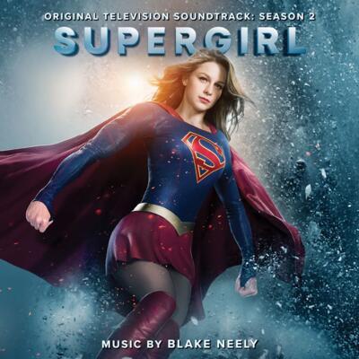 Cover art for Supergirl: Season 2 (Original Television Soundtrack)