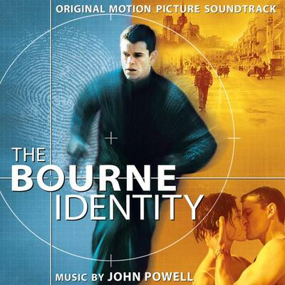 Cover art for The Borne Identity (Original Motion Picture Soundtrack)