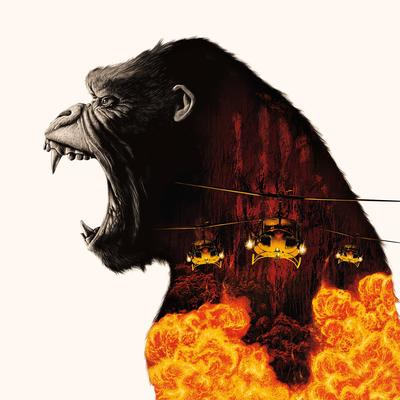 Cover art for Kong: Skull Island (Original Motion Picture Score) (Lava Vinyl Variant)