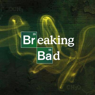 Cover art for Breaking Bad: 10th Anniversary (Albuquerque Crystal (Transparent with a hint of Turquoise) Vinyl Variant)