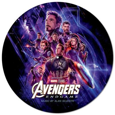 Cover art for Avengers: Endgame (Original Motion Picture Soundtrack) (Picture Disc)