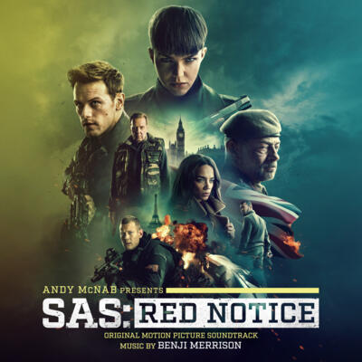 Cover art for SAS: Red Notice (Original Motion Picture Soundtrack)