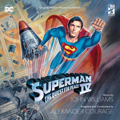 Cover art for Superman IV: The Quest for Peace (Original Motion Picture Soundtrack)