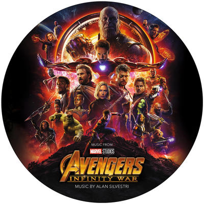 Cover art for Avengers: Infinity War (Original Motion Picture Soundtrack) (Picture Disc)