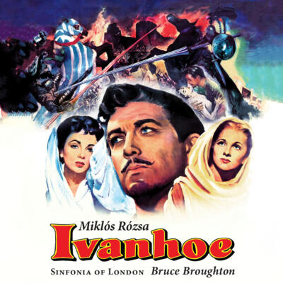 Cover art for Ivanhoe (Original Motion Picture Soundtrack)