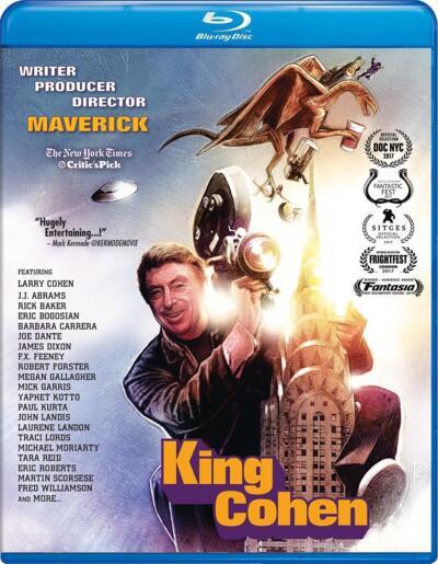 Cover art for King Cohen: The Wild World of Filmmaker Larry Cohen