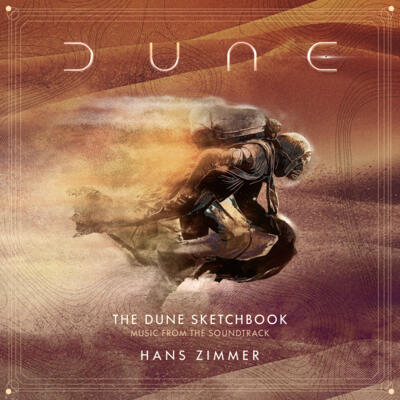 Cover art for The Dune Sketchbook (Music from the Soundtrack)