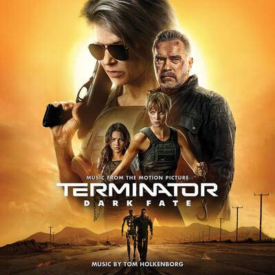 Cover art for Terminator: Dark Fate (Music from the Motion Picture)