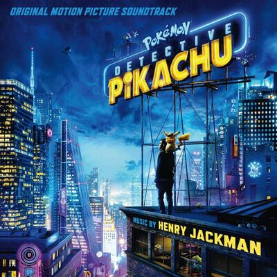 Cover art for Pokémon Detective Pikachu (Original Motion Picture Soundtrack)