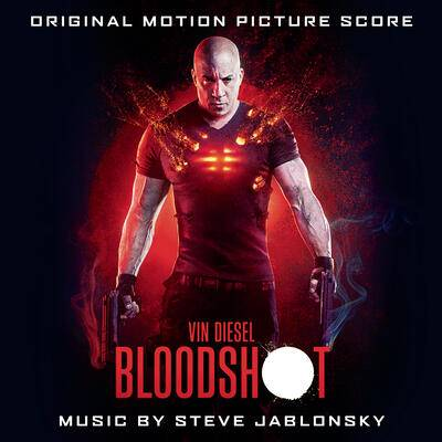Cover art for BLOODSHOT (Original Motion Picture Score)