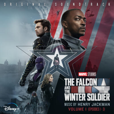Cover art for The Falcon and the Winter Soldier: Volume 1 (Episode 1-3) (Original Soundtrack)