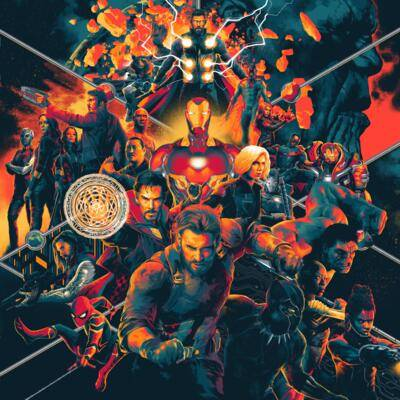 Cover art for Avengers: Infinity War (Original Motion Picture Soundtrack)