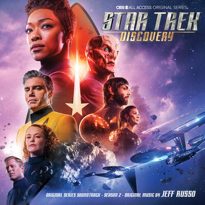 Cover art for Star Trek: Discovery: Season 2 (Original Series Soundtrack)