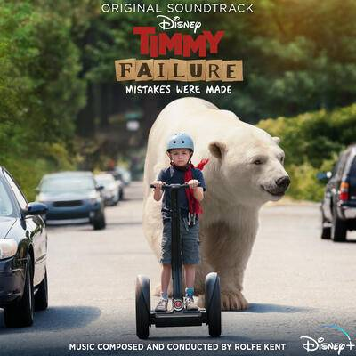 Cover art for Timmy Failure: Mistakes Were Made (Original Soundtrack)