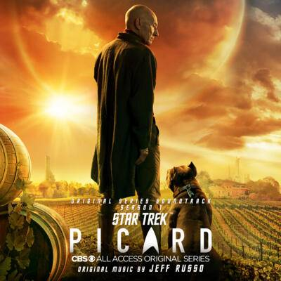 Cover art for Star Trek: Picard – Season 1 (Original Series Soundtrack)