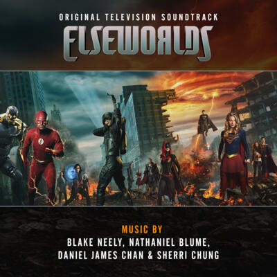 Cover art for Elseworlds (Original Television Soundtrack)