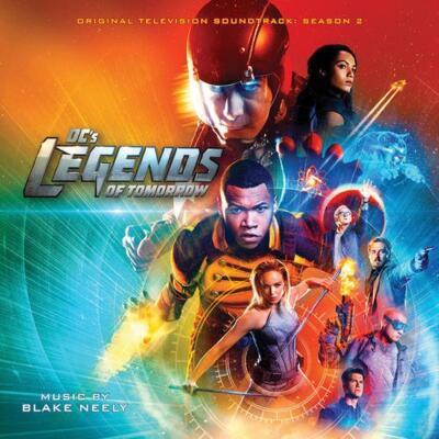 Cover art for DC's Legends of Tomorrow: Season 2 (Original Television Soundtrack)
