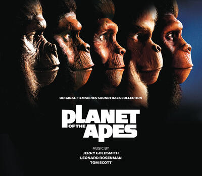 Cover art for Planet of the Apes (Original Film Series Soundtrack Collection)