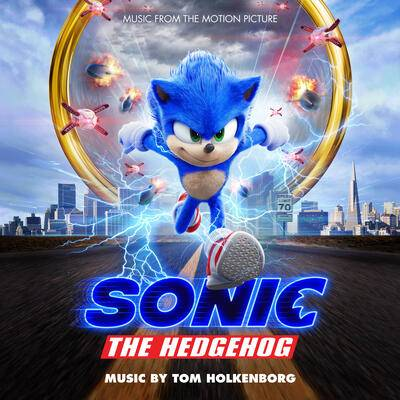 Cover art for Sonic the Hedgehog (Music from the Motion Picture)