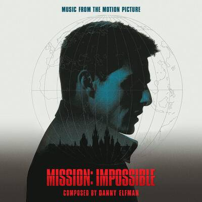 Cover art for Mission: Impossible (Music from the Motion Picture)