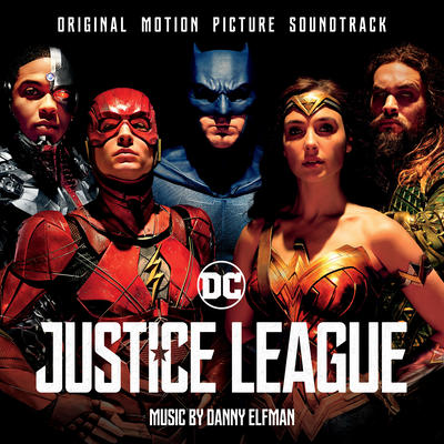 Cover art for Justice League (Original Motion Picture Soundtrack)