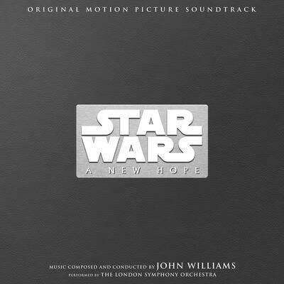 Cover art for Star Wars: A New Hope (Original Motion Picture Soundtrack) (40th Anniversary)