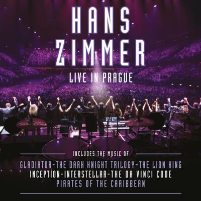 Cover art for Hans Zimmer: Live in Prague