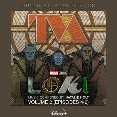 Cover art for Loki: Chapter Two (Episodes 4-6) (Original Soundtrack)