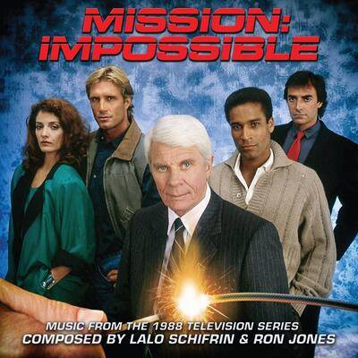 Cover art for Mission: Impossible (Music From The 1988 Television Series)