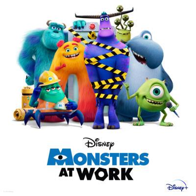 Cover art for Monsters at Work (Original Soundtrack)