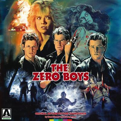 Cover art for The Zero Boys (Original Motion Picture Soundtrack) (Translucent Blue Vinyl Variant)