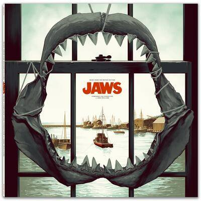 Cover art for Jaws (Music From The Motion Picture) (Ocean Blue Vinyl Variant)