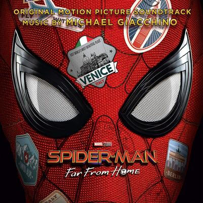 Cover art for Spider-Man: Far From Home (Original Motion Picture Soundtrack)