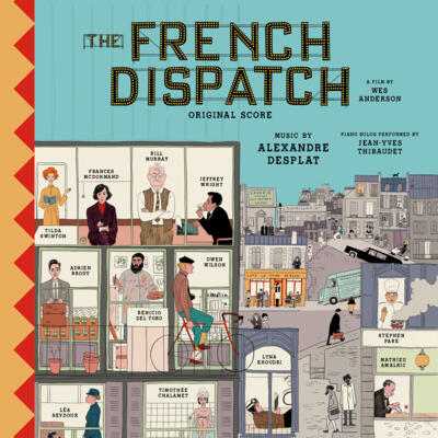 Cover art for The French Dispatch (Original Score)